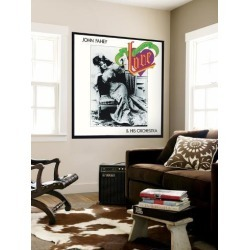 Wall Mural: John Fahey - Old Fashioned Love Wall Decal: 48x48in
