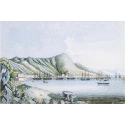 Premium Giclee Print: Hong Kong View by Oriental School: 20x28in