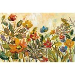 Art Print: Rain Forest Floral by Silvia Vassileva: 24x16in