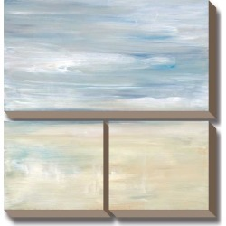 Canvas Art Set: A Gentle Dawn Awakens by Heather Ross: 36x37in found on Bargain Bro India from Art.com for $284.00