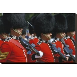 Stretched Canvas Print: Royal Guard, London, England, United Kingdom of Great Britain: 15x22in found on Bargain Bro Philippines from Art.com for $89.00