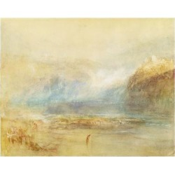 Giclee Print: Falls of the Rhine at Schaffhausen, 1841 (W/C, Pen, Red Ink and Grey Wash on White Wove Paper) by J.M.W. Turner: 24x18in