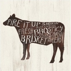 Art Print: Farmhouse BBQ II by Victoria Borges: 12x12in found on Bargain Bro Philippines from Art.com for $15.00