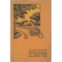 Giclee Print: The Flying Merkel', Advertisement for the Merkel Light Motor Company, C.1910: 24x16in
