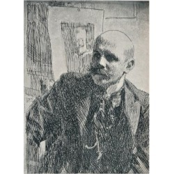 Giclee Print: Count Georg von Rosen (1843-1923), Swedish painter, 1893, (1898) by Anders Leonard Zorn: 12x9in