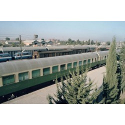 Photographic Print: Railway Station Where Agatha Christie Arrived, Mosul, Iraq, 1977 by Vivienne Sharp: 24x16in