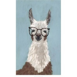 Art Print: Llama Specs I by Victoria Borges: 32x20in found on Bargain Bro Philippines from Art.com for $30.00