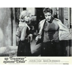 Art Print: A Streetcar Named Desire, French Movie Poster, 1951: 24x18in found on Bargain Bro Philippines from Art.com for $20.00