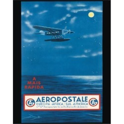 Giclee Print: Europe, Africa, South America, Rio de Janeiro, Brazil - Aeropostale CGA by A.W.D. : 20x16in found on Bargain Bro India from Art.com for $30.00