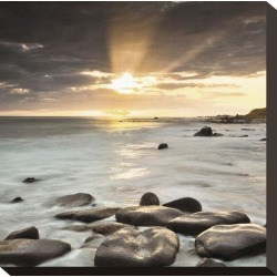 Stretched Canvas Print: Nordic Sunset Canvas Print by Assaf Frank: 12x12in found on Bargain Bro India from Art.com for $59.00