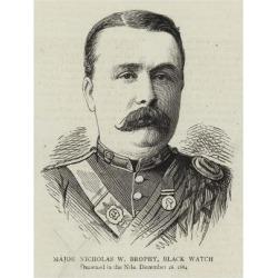 Giclee Print: Major Nicholas W Brophy, Black Watch: 24x18in