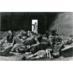 Giclee Print: Station House Lodgers, Published in 'Harper's Weekly', 1874 by Winslow Homer: 24x16in