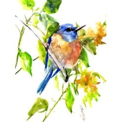 Giclee Print: Bluebird 3 by Suren Nersisyan: 32x24in found on Bargain Bro from Art.com for USD $55.48