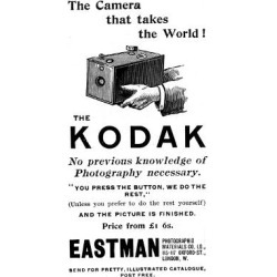 Giclee Print: Advertisement for Kodak Cameras, 1893: 24x16in