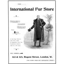 Giclee Print: Advertisement for the International Fur Store, 1901: 24x18in