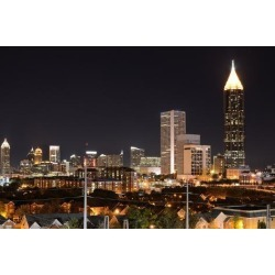 Photographic Print: Midtown Atlanta by SeanPavonePhoto: 24x16in