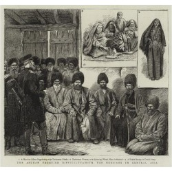 Giclee Print: The Afghan Frontier Difficulty, with the Russians in Central Asia: 16x16in
