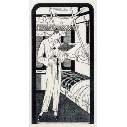 Giclee Print: The Night Sleeper, 1920: 24x16in found on Bargain Bro India from Art.com for $25.00