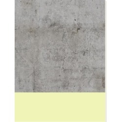 Stretched Canvas Print: Yellow On Concrete by Emanuela Carratoni: 40x30in
