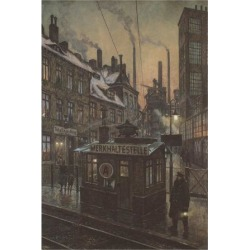 Art Print: Workers Houses by Hans Baluschek: 16x12in found on Bargain Bro India from Art.com for $20.00