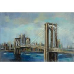 Art Print: Brooklyn Bridge by Silvia Vassileva: 24x16in