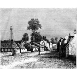 Giclee Print: A Street of Macassar, Celebes, Indonesia, 19th Century by Hubert Clerget: 24x18in