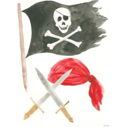 Art Print: Pirates II by Wild Apple Portfolio: 24x18in