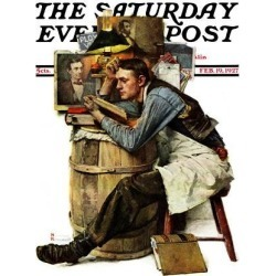 Giclee Print: Lawyers Art Print by Norman Rockwell by Norman Rockwell: 16x12in