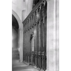 Photographic Print: Rood Screen, St. Agnes Church, Cawston by Frederick Henry Evans: 24x16in