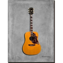Stretched Canvas Print: Gibson Hummingbird 1968 by Mark Rogan: 40x30in found on Bargain Bro from Art.com for USD $117.80