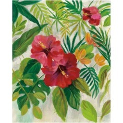 Art Print: Tropical Jewels I v2 by Silvia Vassileva: 24x18in