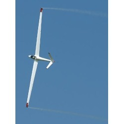 Photographic Print: A Sailplane Glider During the 2007 Naval Air Station Oceana Air Show by Stocktrek Images: 24x18in