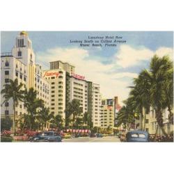 Art Print: Collins Avenue, Miami Beach, Florida Art Print: 24x18in found on Bargain Bro India from Art.com for $20.00