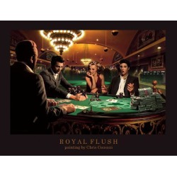 Art Print: Royal Flush by Chris Consani: 11x14in found on Bargain Bro India from Art.com for $20.00