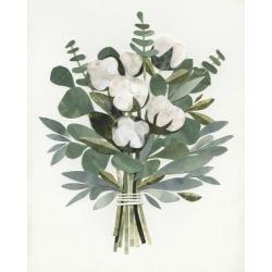 Art Print: Cut Paper Bouquet III: 24x18in