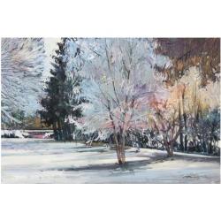 Art Print: Winter Alive by Eduard Gurevich: 18x26in