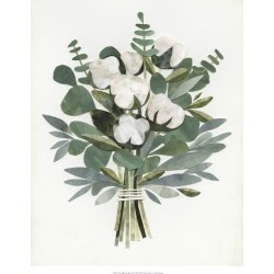 Giclee Print: Cut Paper Bouquet III by Victoria Borges: 22x18in found on Bargain Bro Philippines from Art.com for $35.00