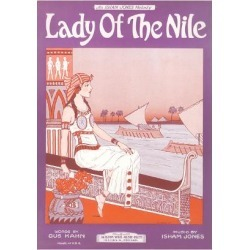 Art Print: Lady of the Nile Sheet Music: 24x18in
