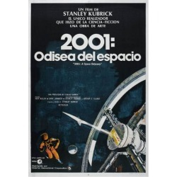 Art Print: 2001: A Space Odyssey, Argentine Movie Poster, 1968: 24x18in found on Bargain Bro Philippines from Art.com for $20.00