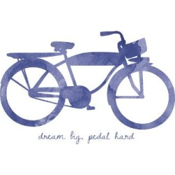 Giclee Print: Bike 2 by Erin Clark: 24x16in found on Bargain Bro India from Art.com for $25.00