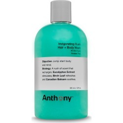 Anthony Anthony Invigorating Rush Hair & Body Wash 355ml found on Bargain Bro UK from Indulge Beauty