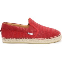 VLAD Red Croc Printed Nubuck Espadrilles found on MODAPINS from Jimmy Choo UK for USD $409.21