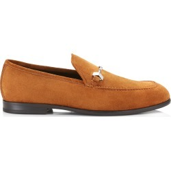MARTI Tan Velvet Suede Loafers found on MODAPINS from Jimmy Choo UK for USD $623.25
