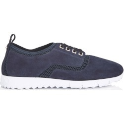 JENSON Navy Mesh and Suede Trainers found on MODAPINS from Jimmy Choo UK for USD $268.19