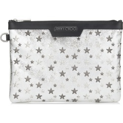 DEREK/S Champagne Glitter Leather Document Holder with Multi Metal Stars found on MODAPINS from Jimmy Choo UK for USD $488.53