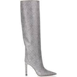 MAVIS 100 Silver Prince of Stars Glitter Knee High Boots found on MODAPINS from Jimmy Choo UK for USD $1437.72