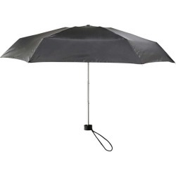 Joe Fresh Women's Micro Umbrella, Black (Size O/S)