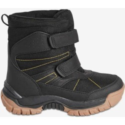 Joe Fresh Kid Boys' Quick-Close Snow Boots, Black (Size 5)