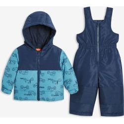 Joe Fresh Baby Boys' PrimaLoft® 2 Piece Snow Suit, Dark Navy (Size 3-6)