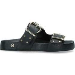 Womens Kg Kurt Geiger Rhian Studrhian Stud Summer Kg Kurt Geiger Black, 3.5 UK found on Bargain Bro UK from Shoeaholics